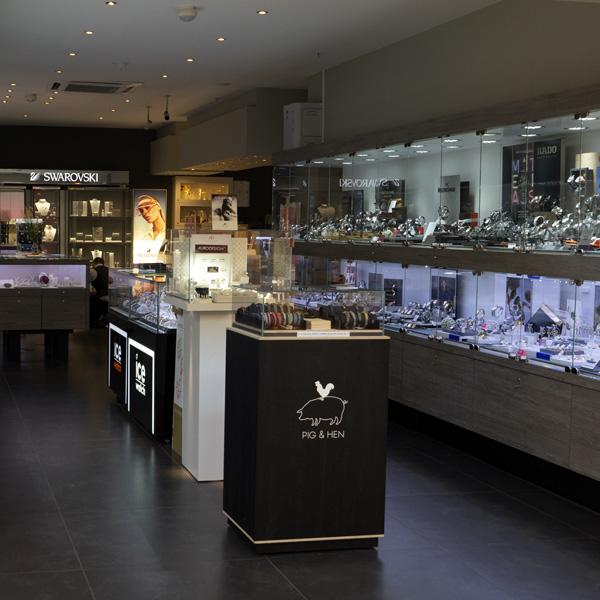 Shopping de Nivelles bijouterie Livis Laforge Interieur