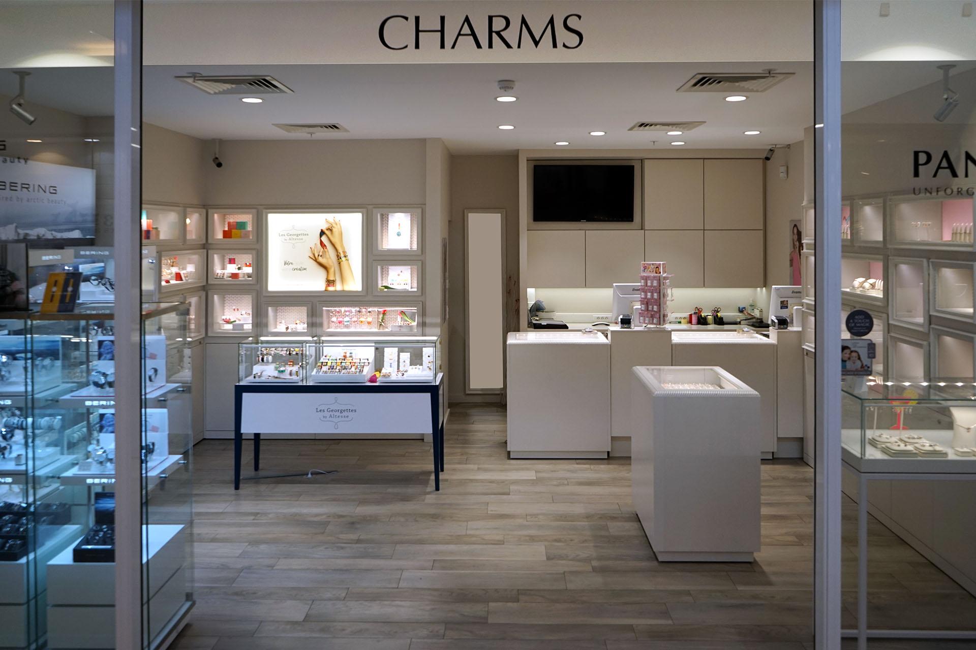 Shopping de Nivelles bijouterie Charms
