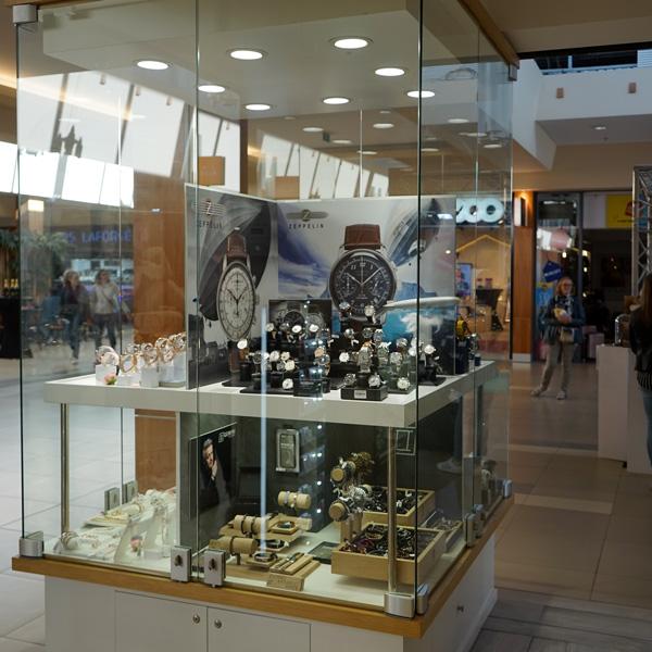 Bijouterie lila shopping de Nivelles -montres Zeplin et bracelets gemini