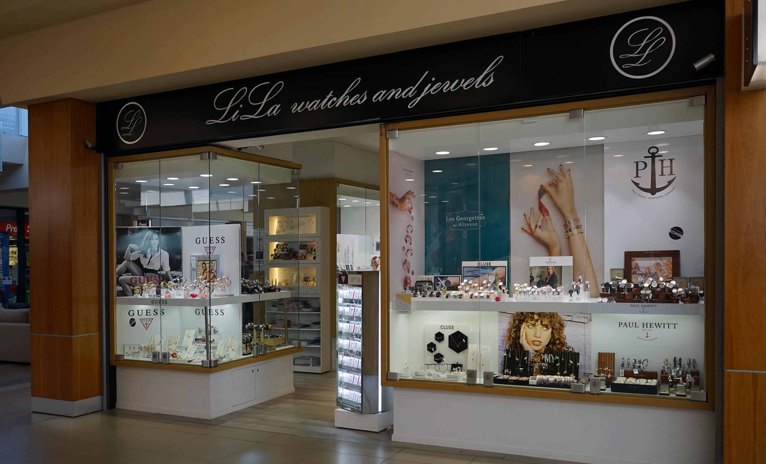 Bijouterie lila shopping de Nivelles