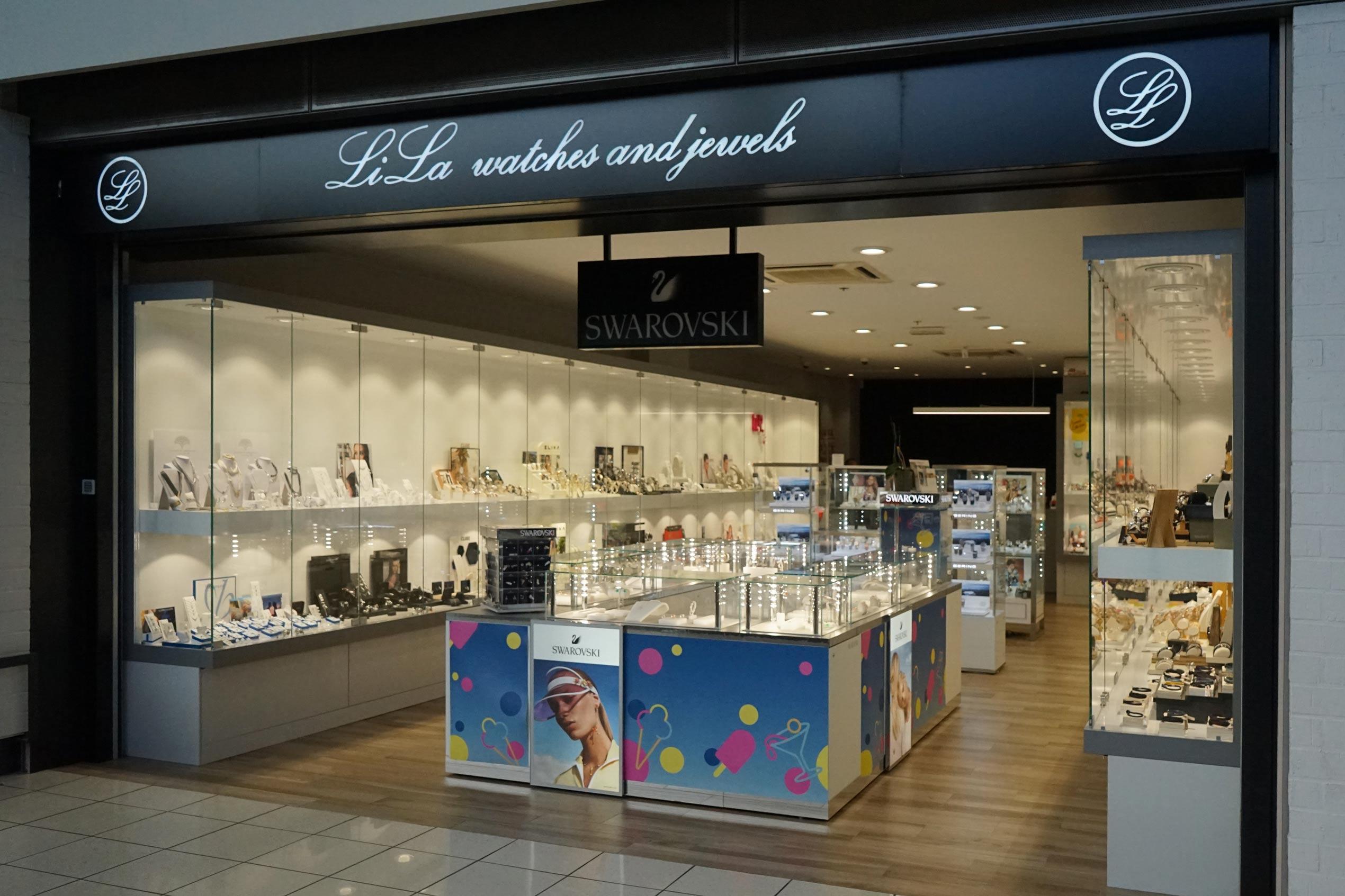 Bijouterie lila shopping Cora à Chatelineau
