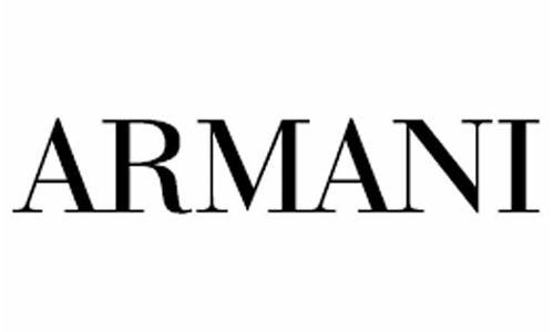Logo de la marque Armani